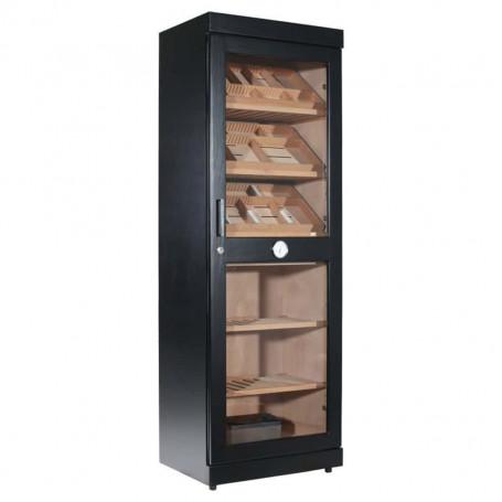 Humidor Cigar Cabinet Black Roma