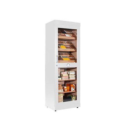 Humidor Cigar Cabinet White Roma