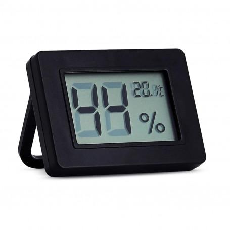 Black Digital Thermo-hygrometer