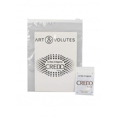 15 Cigar Art et Volutes by Credo Cigar Bag