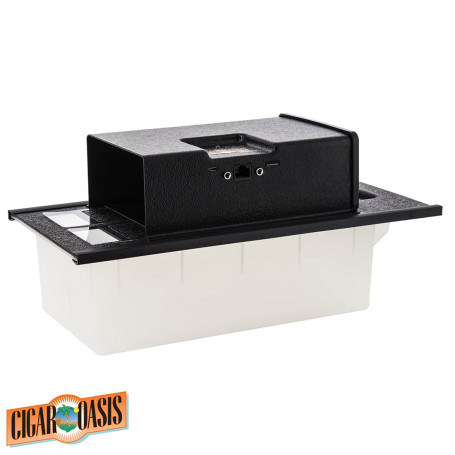 Black electronic humidifier Oasis Magna