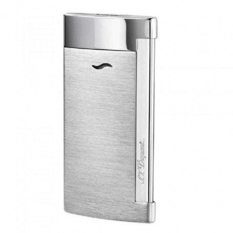 Slim 7 Brushed Chrome S.T. Dupont lighter