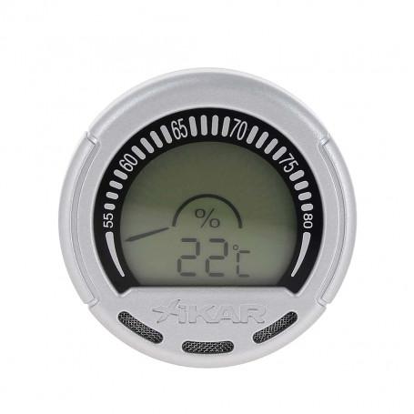 Hygrometre numérique rond Purotemp