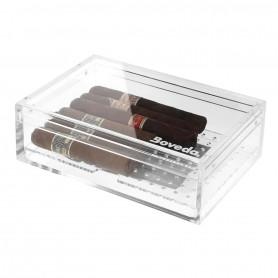 Cave à cigares Boveda Plexiglass transparente