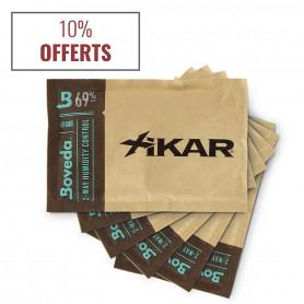 Pack 6 sachets humidification cigares 69% Boveda