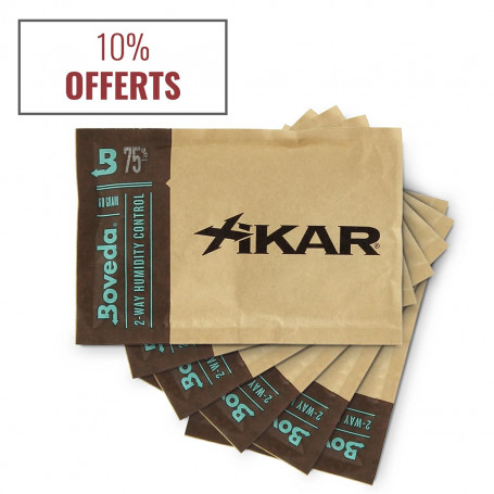 Pack of 6 Humidification Packets for Cigars 75 %