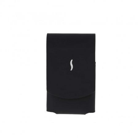 MiniJet Lighter Leather Black Case