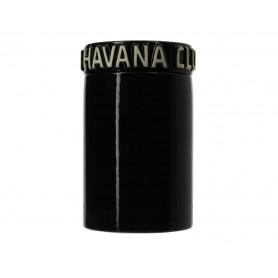 Jarre a cigare humidifiée Céramique Noire