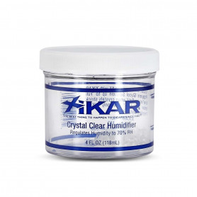 Humidificateur Rond Crystal Gel Xikar 118 ml Transparent