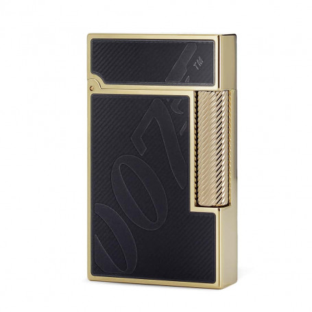 Ligne 2 James Bond Black and Gold Lighter
