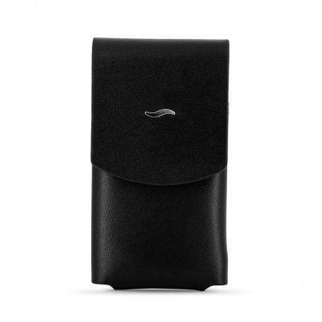 Slim 7 Lighter Leather Black Case