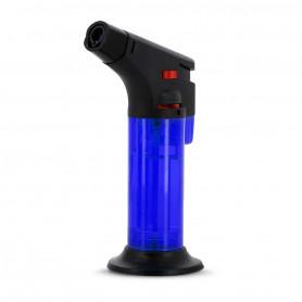 Briquet de table Torche Jet Bleu