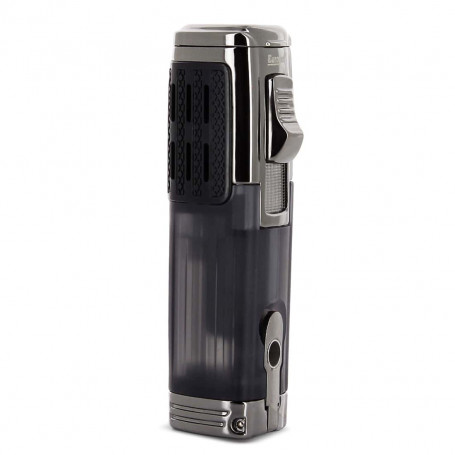 Triple Flame Cigar Lighter and Cutter