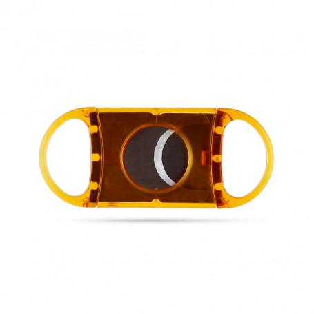 Orange Double Blades Cigar Cutter