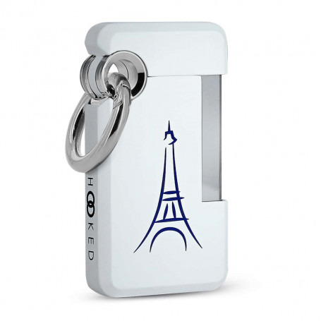 Hooked White Paris Lighter
