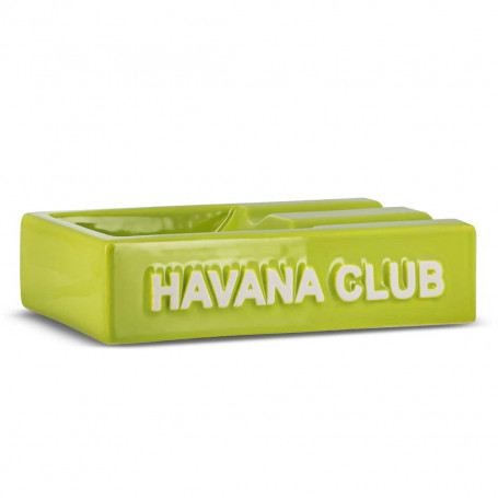 Cendrier Cigare Rectangulaire El Segundo Havana Club Vert