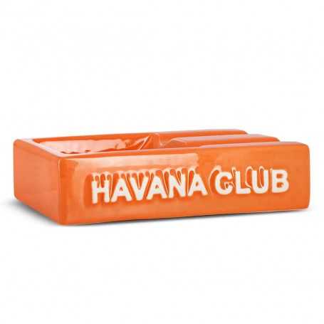 Cendrier Cigare Rectangulaire El Segundo Havana Club Orange