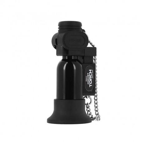 Briquet Pocket Torche Noir