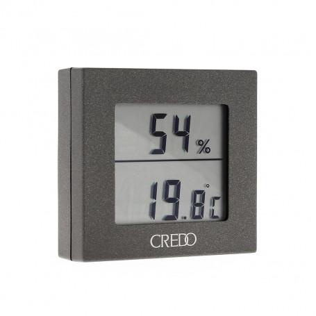 Grey Electronic Hygrometer
