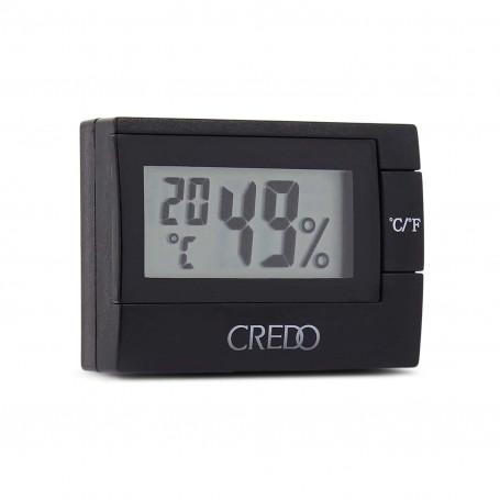Black Electronic Hygrometer