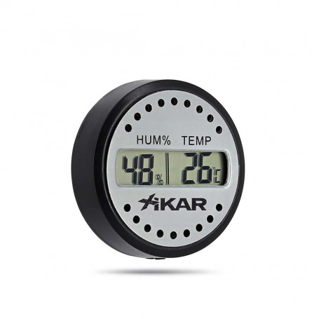 Thermohygrometre Digital Rond